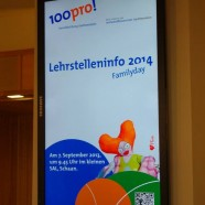 100pro Lehrstellen-Info-Tag mit Flotti